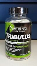 NUTRAKEY TRIBULUS strength & performance 100cap TESTOSTERONE & PERFORMANCE BOOST
