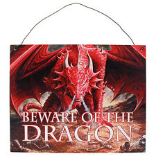 Fantasy Gothic Art Metal Wall Plaque~Sign~Dragons Lair~by Anne Stokes~2~uk
