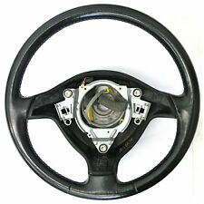 VW Golf MK4 (99-04) Leather Steering Wheel - 3 Spoke Original Genuine