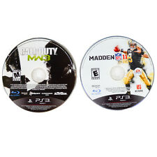 PS3  2 Games Call of Duty MW3 Modern Warfare 3 & Madden 11 Playstation 3