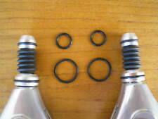 "One Set Campagnolo Gen. 4 & 5 Delta Brake Barrel Adjuster Black Rubber ""O"" Rings"