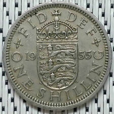 GREAT BRITAIN - 1955 - 1 Shilling Elizabeth II #CAMT