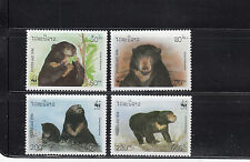 Laos 1994 Bears Sc 1174-1177   complete  mint never hinged