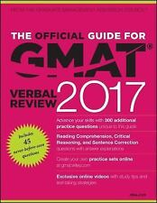 The Official Guide for GMAT Verbal Review 2017 with Online Question Bank and...