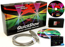 Laserdesigner Pangolin Quickshow 3.0 mit FB3 USB ILDA Interface, QS Extra CD