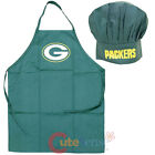 NFL Green Bay Packers Chefs Cooking BBQ Apron Chef Hat Set