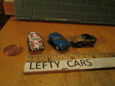 3 Micro GALOOB Plastic Very Small Mazda RX-7's 1986 Vintage