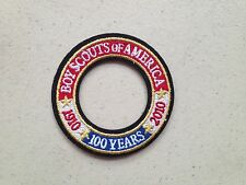 Boy Scouts BSA 100 Year Anniversary Patch - BRAND NEW