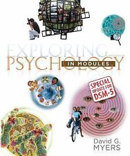 Exploring Psychology in Modules with Updates on DSM-5, Myers, David G., Acceptab