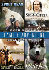Family Adventure Collectors Set White Fang/Sign of the Otter/Spirit of the Eagle