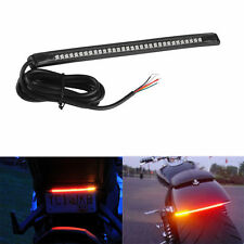 """Universal 8"""" 32 LED Motorcycle Strip Flexible Light Tail Brake Stop Turn Signal"""