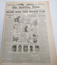 The Sporting News Newspaper   Stan Musial  December 9, 1943    101014lm-eB3