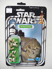 Vintage STAR WARS 'Dewback Dung' NOVELTY CUSTOM on ANH Syle 12 back MOC
