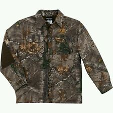 NWT - REALTREE Men's 'REALTREE XTRA' Camo HUNTING SHIRT / JACKET  WARM - SIZE XL