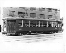 O724 RP 1942/80s NEW ORELANS LA TRAIN TROLLEY #419