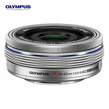 OLYMPUS M.ZUIKO Digital ED 14-42mm F3.5-5.6 EZ Silver Lens  Bundle Bulk package