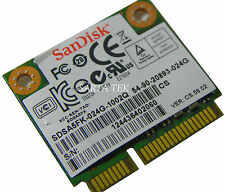 24GB SCANDISK SDSA5FK-024G -1002 half Mini PCI-E SOLID SDD Hard Drive