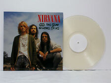 "NIRVANA ""1991 The Year Grunge Broke"" Ltd on CLEAR [VINYL NEW] LP David Grohl"