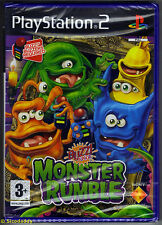 PS2 Buzz! Junior: Monster Rumble, UK Pal, New & Sony Factory Sealed