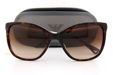 Brand New EMPORIO ARMANI Sunglasses 4025 5026/13 HAVANA/GRADIENT BROWN Women