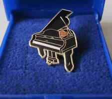 Grand Piano Lapel Pin Badge Brooch Music Gift Present Pianist - GIFT BOXED