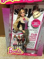 Barbie Life In Dreamhouse Fashionistas Style 100+ Look 1st Wave Glam Luxe Doll