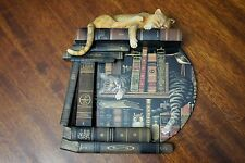 Bradford Exchange Plate A1240 Charles Wysocki Top Shelf Tales Cats Collectible