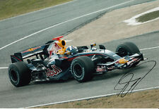 David Coulthard Hand Signed Red Bull Racing Photo 12x8 3.