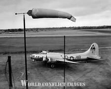 USAAF WW2 B-17 Bomber Tarmac 8x10 Photo 384th BG Grafton Underwood WWII