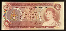 1974 Bank of Canada $2 Replacement Note *RW - UNC