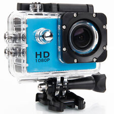Full HD 720P Camera 30M Waterproof Sport DV Action Digital Video Camera DVR Blue
