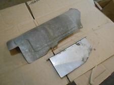 Bombardier Quest 650 Max XT 2004 04 exhaust pipe muffler shields guards covers