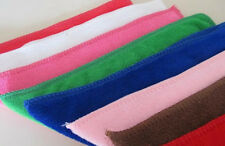 10Pcs Mixed Color Microfiber Car Cleaning Towel Home Washing Polishing Cloth Hot