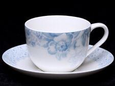 VILLEROY & BOCH FLOREANA BLUE Premium Porcelain Cup & Saucer Set