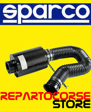 Airbox universal Sparco HP300 - 030HP300 - fibra de carbono real