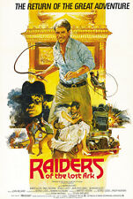Raiders of the Lost Ark (1981) Harrison Ford movie poster print 4