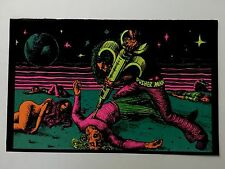 The Losers Pusher Man Fly Carefully Astronaut Blacklight 2 Poster Pin-up Print