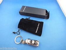 ORIGINAL Mercedes Schlüsselanhänger 300SL W198 Silber Metall Keychain 300 SL NEU