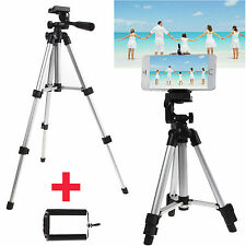 Professional Camera Tripod Stand Mount Holder+Bag For Smart Phone iPhone Samsung