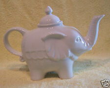 ELEPHANT TEAPOT WHITE PORCELAIN BIA CORDON BLEU 900ML