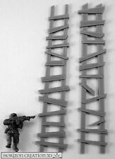 HC3D -Ruff Ladders 2 Pack-Building Bits-Terrain&Scenery-40K-28mm