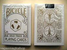 Gold Trace Deck Bicycle Playing Cards Poker Size USPCC Cube Custom Limited New