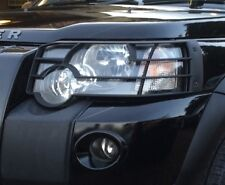 Front light guards noir land rover freelander 1 2005-07 facelift calandre avant