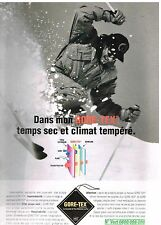 Publicité Advertising 1996 Les Vetements de ski Gore-Tex