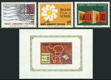"Turkey 1711-1713,1714 S/S, MI 2011-2013,Bl.12, MNH. ""Balkanfila"" EXPO. Map, 1966"