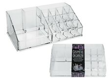 Large Cosmetic Organiser Drawers Clear Acrylic Jewellery Box Makeup Storage Case