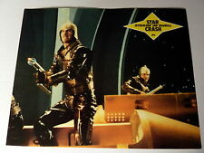 STAR CRASH * CAROLINE MUNRO; HASSELHOFF - Aushangfoto - German LOBBY CARD 1978
