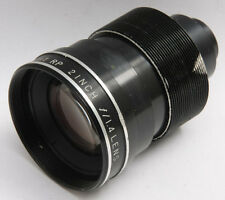 """Singer Super-bright Rp 2"""" f/1.4 Projection Lens - POOR Glass - USED D28C"""