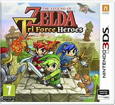 The Legend of Zelda: Tri Force Heroes Nintendo 3DS   NUOVO!