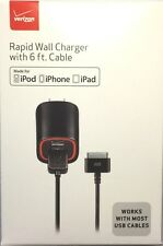 Verizon Apple Certified Rapid 2.1 AMP Power Wall Travel Charger For iPhone 4S 4